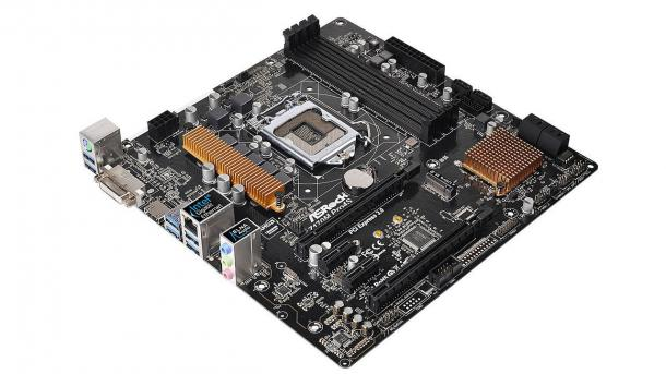 LGA1151-Mainboard Asrock Z170M Pro4S