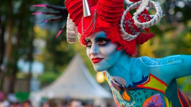World Bodypainting Festival - Fest für Fotografen