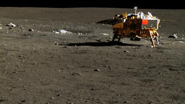 Chang'e 3 auf dem Mond