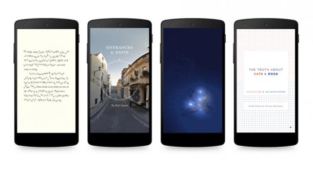 Google experimentiert mit Enhanced E-Books