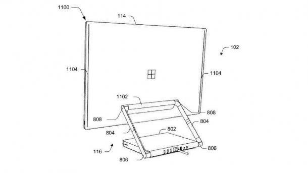 Microsoft patentiert Konzept für einen modularen All-in-One-PC