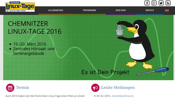 Programm der Chemnitzer-Linux-Tage veröffentlicht