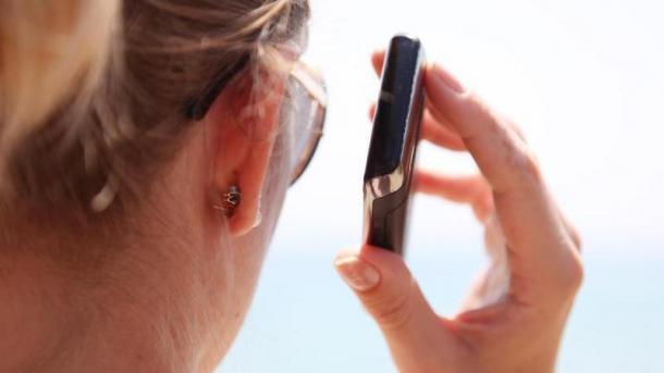 Urlaubs-Telefonat