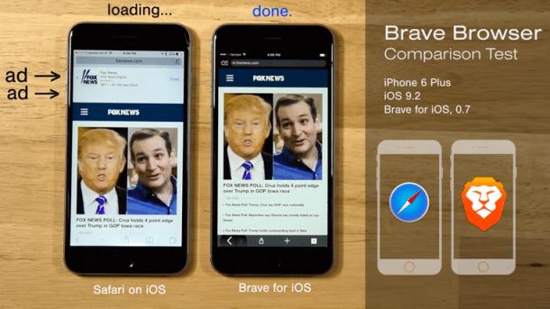 Adblocking-Browser Brave für iOS veröffentlicht
