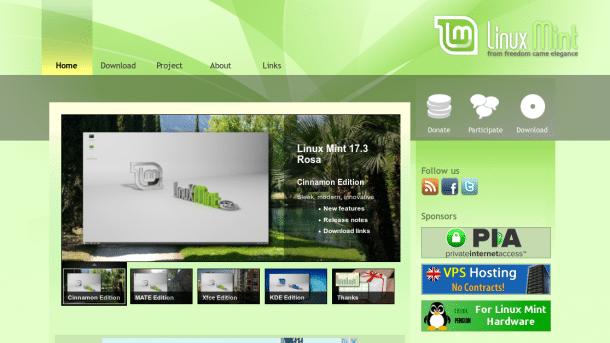 Linux Mint über WordPress gehackt – und zwar gleich doppelt