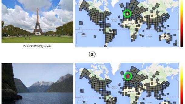 Neuronales Netz übertrifft Menschen bei der Ortsbestimmung von Fotos