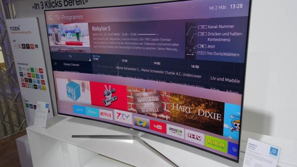 Smart Tv Samsung Schafft Gewöhnliche Fernbedienung Ab Heise Online