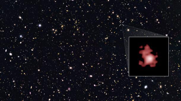 Neuer Rekord: Hubble entdeckt die bislang fernste Galaxie
