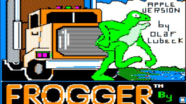 Apple II Frogger