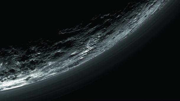 NASA-Sonde New Horizons: Die Hälfte der Daten vom Pluto-Vorbeiflug ist übermittelt