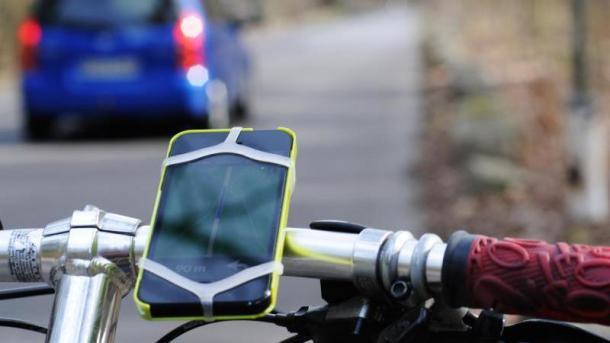 App mit Fahrradnavigation
