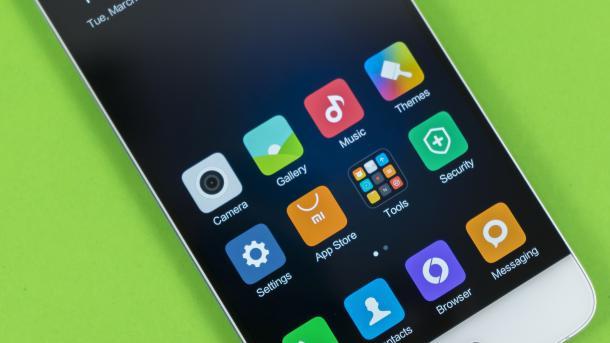 Highend Aus China Android Smartphone Xiaomi Mi 5 Im Test