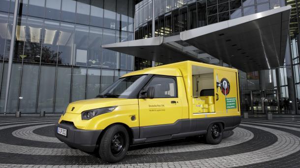 StreetScooter: Deutsche Post baut E-Zustellautos in Serie