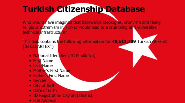 Persönliche Daten von 49 Millionen türkischen Wählern veröffentlicht