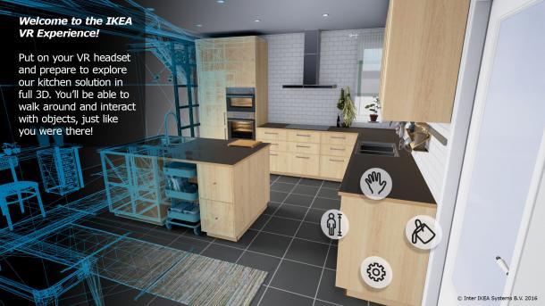 Ikea schickt Kunden in virtuelle Rundgänge seines Küchenangebots