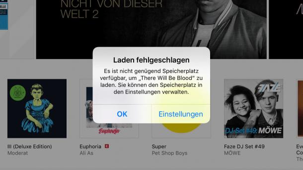 Ios Tipp Film Download Schaufelt Speicherplatz Frei Heise Online