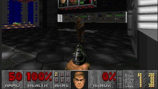 Zuerst Go, jetzt Egoshooter: KI soll Spieler bei Doom herausfordern