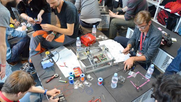 re:publica: Make ist Medienpartner des GIG Makerspace