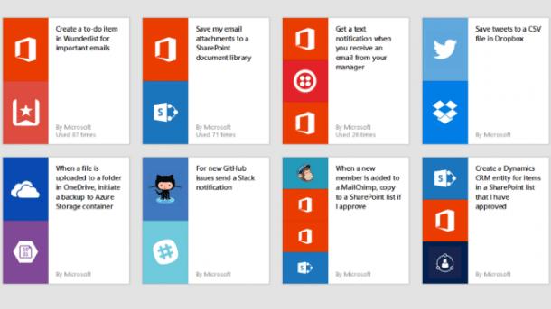 Automatisiserungsdienst Microsoft Flow