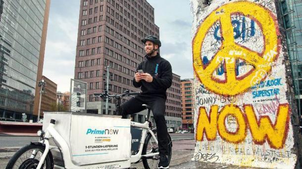 Prime Now: Amazon startet 1-Stunden-Lieferung in Berlin