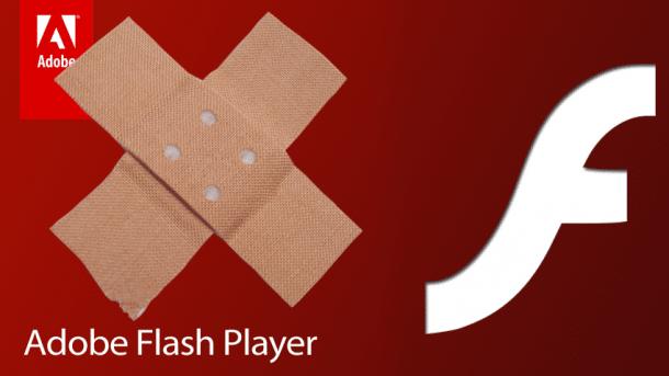 Patchday: Adobe schiebt Patch für kritische Flash-Lücke nach