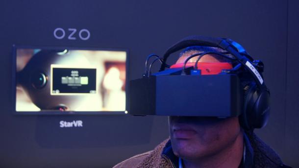 Acer steigt bei 5K-Virtual-Reality-Headset StarVR ein
