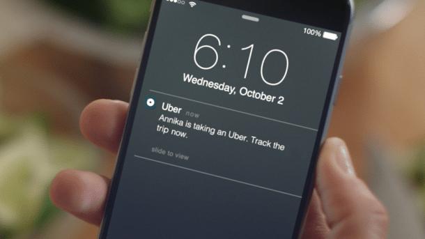 Ubers Trip Tracker