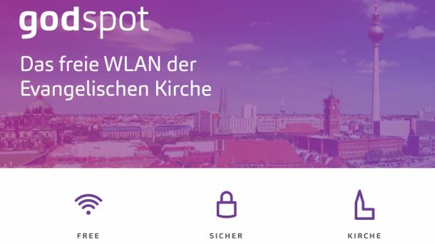godspot: Evangelische Kirche bietet freies WLAN in und um Berliner und Brandenburger Kirchen an