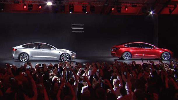 Elektroauto: Tesla braucht über eine Milliarde Dollar mehr für Produktion des Model 3