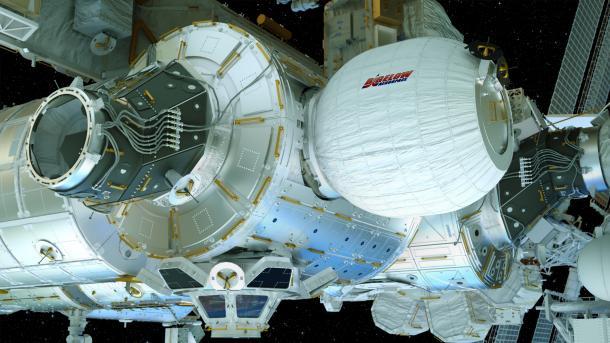 NASA will aufblasbares Modul an der ISS testen