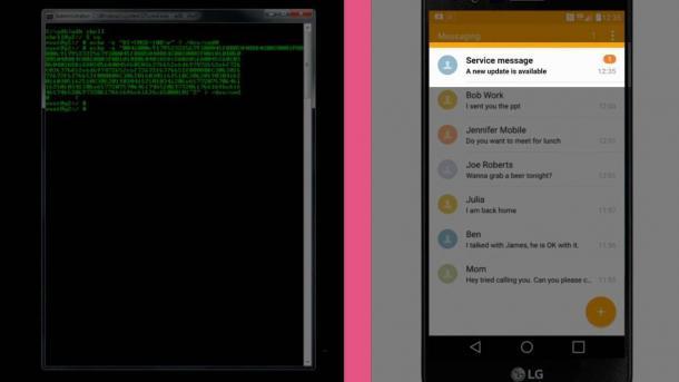Sicherheitslücken in der Android-Firmware von LG Smartphones