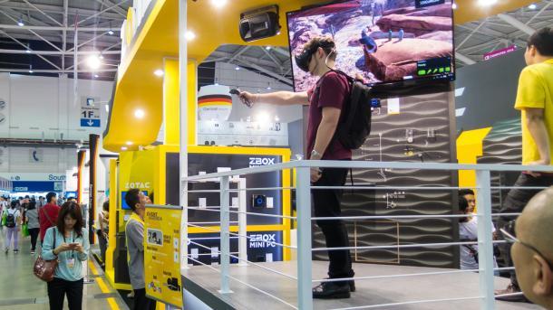 Rucksack-PCs für kabelloses Virtual Reality