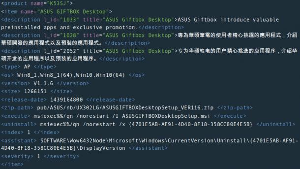 Update-Manifest von Asus