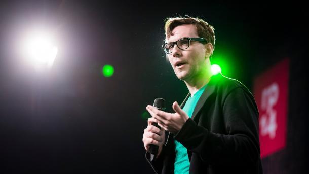 Jacob Appelbaum auf der re:publica 2014