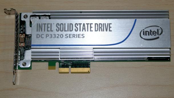 Intel SSD DC P3320 mit NVMe