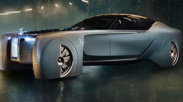 Rolls-Royce: Das Auto als selbstfahrendes Wohnzimmer