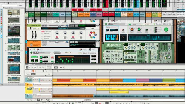 Reason 9: Neue Version der Musikproduktions-Software