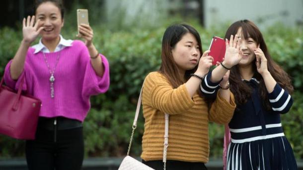 Smartphones in China