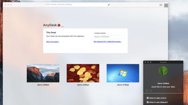 AnyDesk Mac