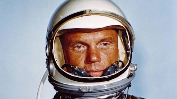 Der erste Amerikaner, der die Erde umkreiste: John Glenn wird 95