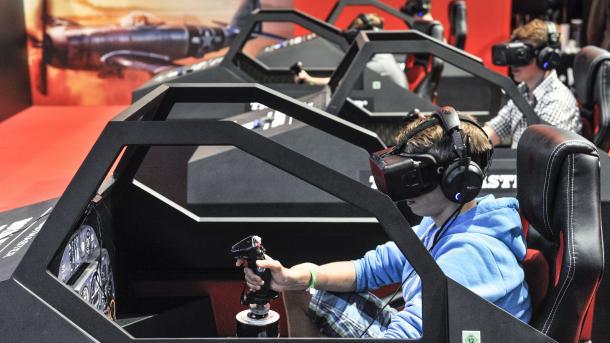 Spielemesse Gamescom wächst und wird internationaler