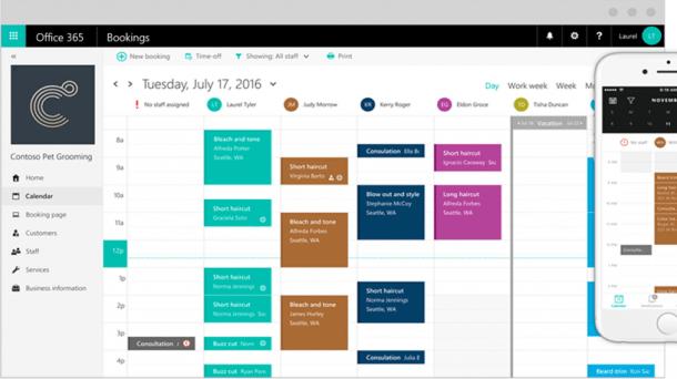 Microsoft Bookings: Termine mit Office 365 organisieren