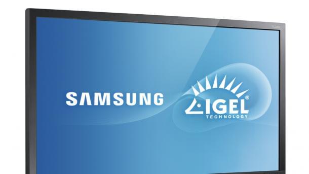 Samsung Thin-Client-Displays mit IGEL Linux