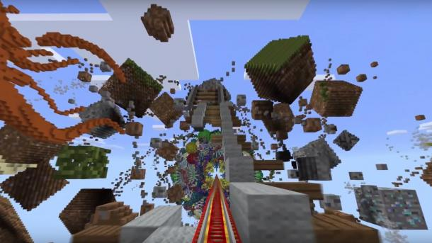 VRSpiel Minecraft Erscheint Demnächst Für Oculus Rift Heise Online - Minecraft spiele geburtstag