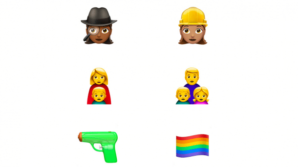 Emoji in iOS 10