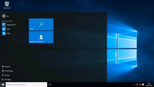 Neue LTSB-Version von Windows 10 im Oktober