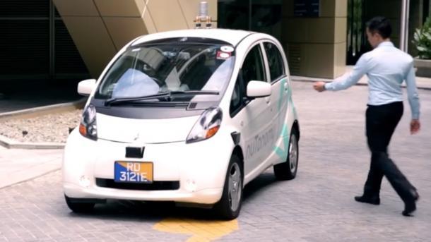 Durch Singapur fahren die ersten Roboter-Taxis