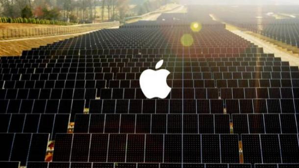 Apple wird zum Energielieferanten