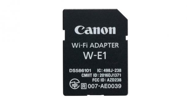 Canon kündigt wie erwartet WLAN-Adapter W-E1 an