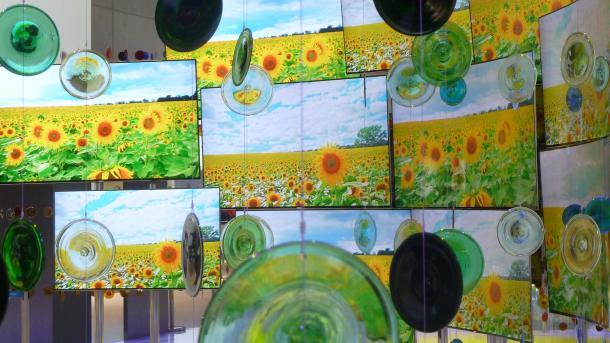 Farbstarke Gaming-Monitore mit Nanopartikeln